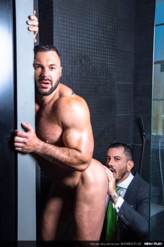 suit sex men naked bodybuilder